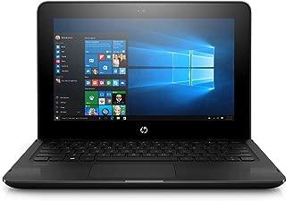HP Stream 11-ag002ne Laptop, Celeron-N3060, 11 Inch, 32GB eMMC, 4GB RAM, Intel HD Graphics, Win 10, Eng-Ara KB, Black