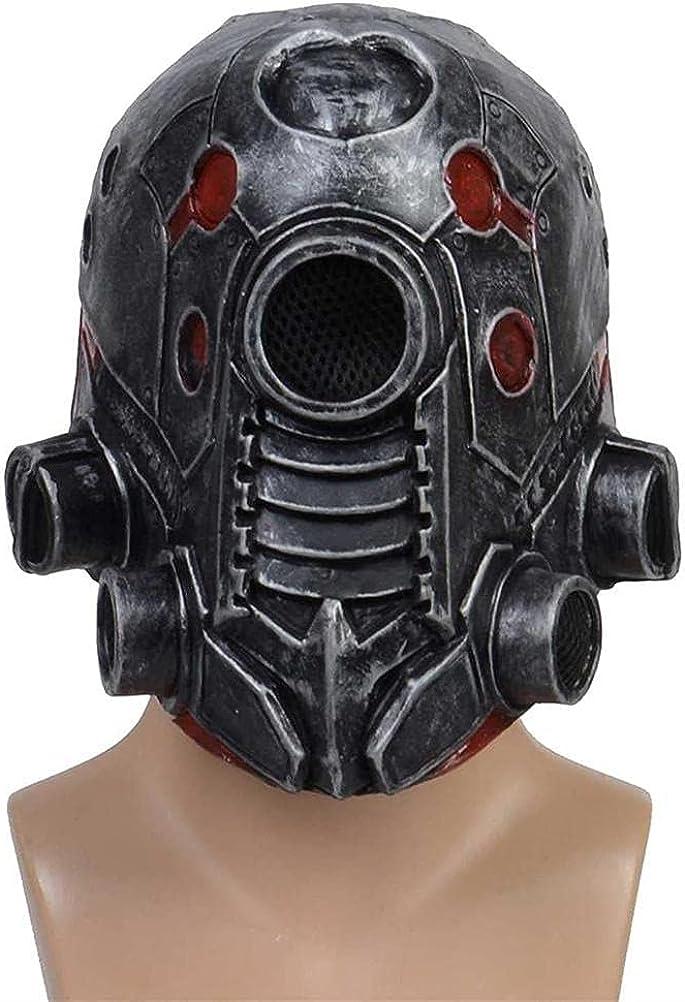 Punk Masque Helmet Latex Halloween Steampunk Robot Masque Headge