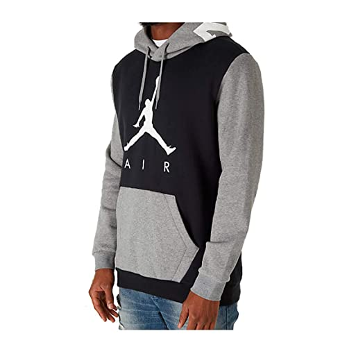 05748ed50 Jordan Nike Mens Air Jumpman Graphic Pull Over Hoodie