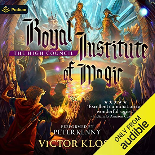 The High Council Audiobook By Victor Kloss cover art