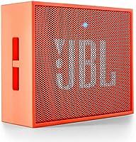 (CERTIFIED REFURBISHED) JBL GO Portable Wireless Bluetooth Speaker with Mic (Orange)
