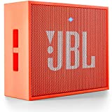 JBL Go Altavoz Bluetooth Recargable portátil con Entrada AUX, Compatible con Smartphones, tabletas y Dispositivos MP3, Color Naranja