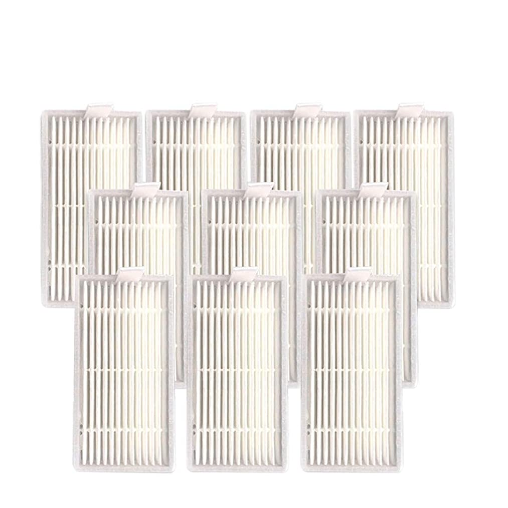 Mjuan Home & Garden - Vacuum Cleaner Accessories,10PC Filter Screen Replacement Accessories for Ilife V50 V5SPRO V5 Robot Sweeper