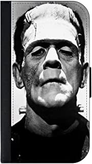 Frankenstein's Monster Apple iPhone 7 Plus Universal (Not Compatible with the Standard iPhone 7) PU Leather Wallet Case with Flip Cover and Magnetic Clasp
