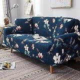 WXQY Funda de sofá elástica geométrica, combinación de protección para Mascotas, Funda de sofá, Esquina en Forma de L, Funda de sofá Antideslizante, combinación A3, 4 plazas