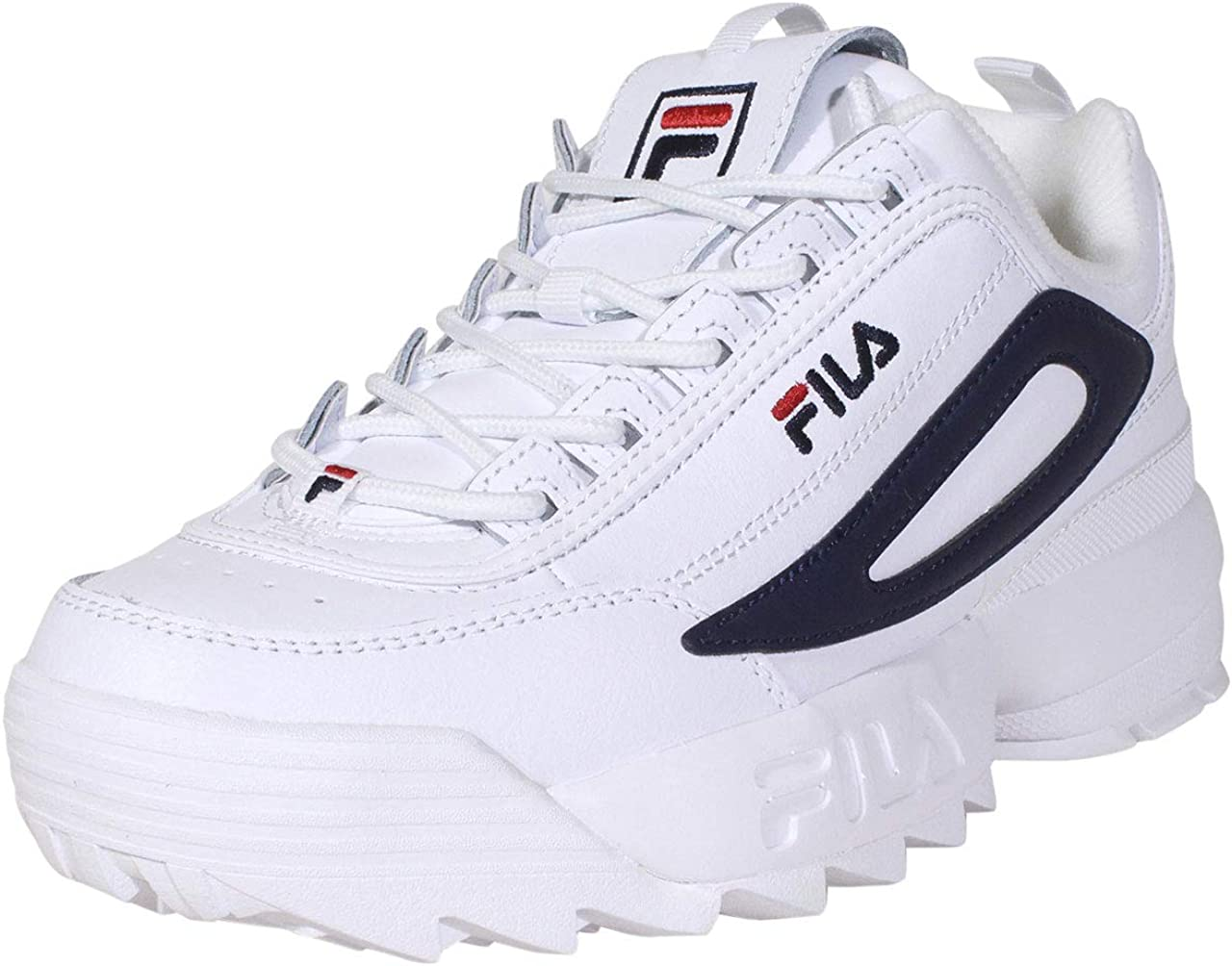 Fila Men's Disruptor New products, world's highest quality popular! Over item handling II Shoes Logo Sneakers XL