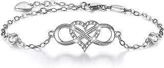 Best sterling silver cubic zirconia infinity bracelet Reviews