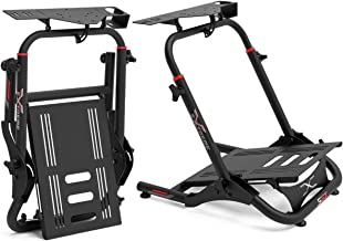 Extreme Sim Racing Wheel Stand Cockpit SGT Racing Simulator - Black Edition For Logitech G25, G27, G29, G920, Thrustmaster...