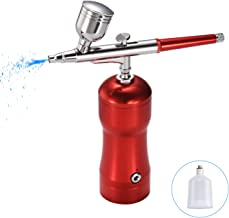 Magdisc Upgraded Cordless Airbrush Kit with Air Compressor, Mini Portable Airbrush Gun, Rechargeable Handheld Airbrush Set...