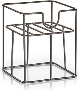 Zeller Support pour Distributeur de Boisson, Métal, Noir, 16.5 x 16.5 x 19 cm
