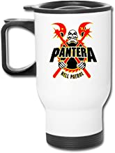 Ceramic Travel White Cups Metal Band Pantera Vulgar Display Of Power Coffee Thermos Mugs Stainless Coffee Mugs
