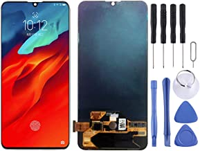LCD Screen and Digitizer Full Assembly for Lenovo Z6 Pro (Black) Functional (Color : Black)