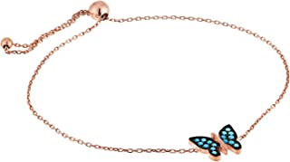Alwan Bracelet with Butterfly for Women and Children - EE5229BS
