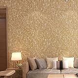 BGI Papier Peint Couleur Pure Couleur Papier Peint Simple Salon TV Fond Mur Papier...