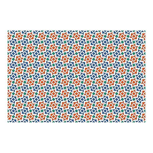Papel pintado adhesivo - Alhambra Mosaic Tile Look - Mural apaisado 25