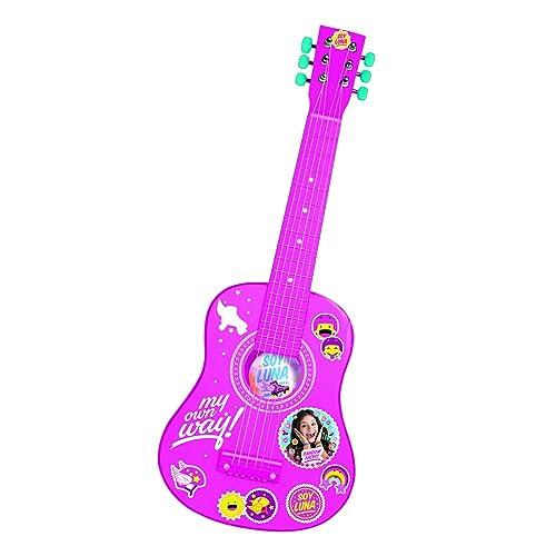 REIG Disney Fairies Guitare en Bois Soy Luna, 5650, 65 cm