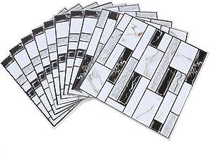 TORO DEL ORO Numeri casalinghi e lettere in piastrelle LetraI Adesivo in ceramica Design Craquel/é grande 7,5 x 15 cm stile crackl/é nomi e indirizzi
