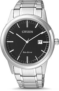Citizen AW1231-58E - Orologio da uomo XL, analogico, al quarzo, in acciaio inox