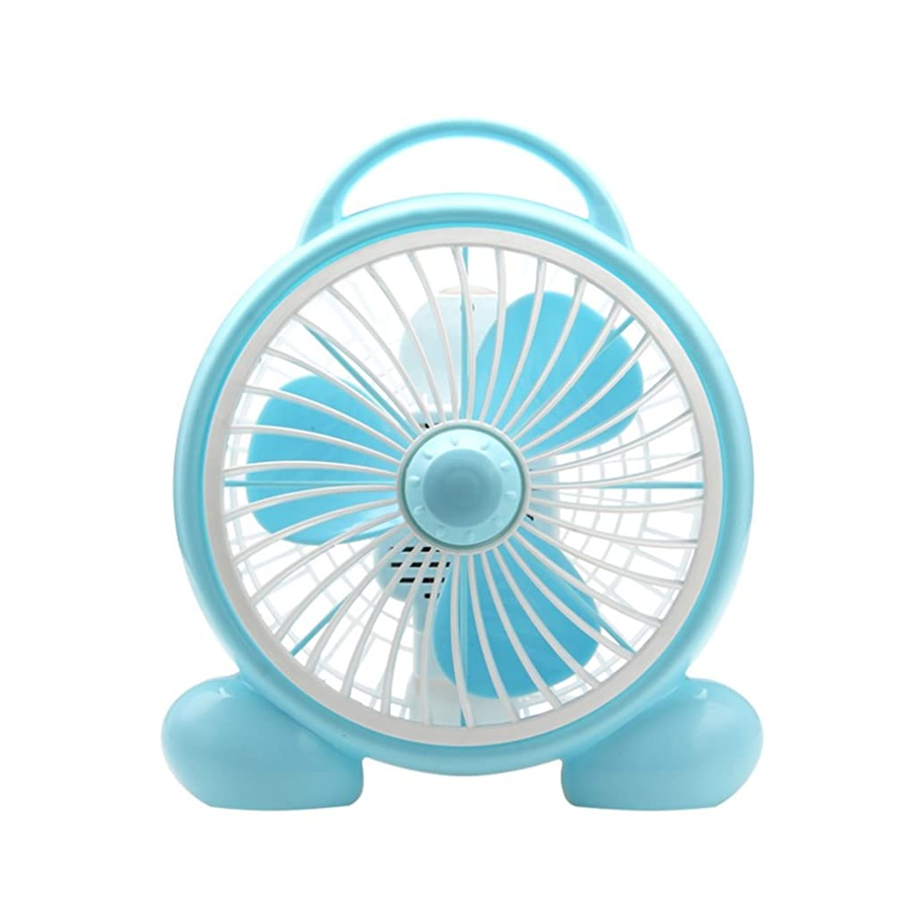 GH-Tower Fans YXGH@ 8-inch Cartoon Fan/Desk Fan/Mini Fan/Student Dormitory Fan/Office Desktop Fan/Bed Desktop Mute Fan/Silent Small Children's Fan/Portable Light Fan Cooling Appliances (220V)