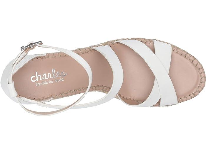 Charles By David Noteworthy White Heels
