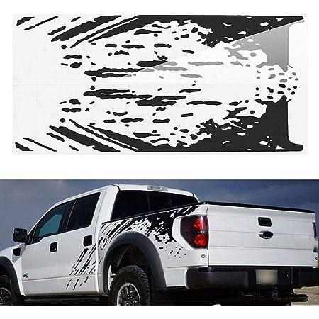 Luixxuer Vehicle Side Bed Decals Kit Mud Splash Sticker Vinyl For ...