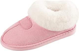 Ladies Winter Warm Cat Printed Shoes Indoor Outdoor Snow Bootie BIKETAFUWY Womens Mid Calf Boot Slippers