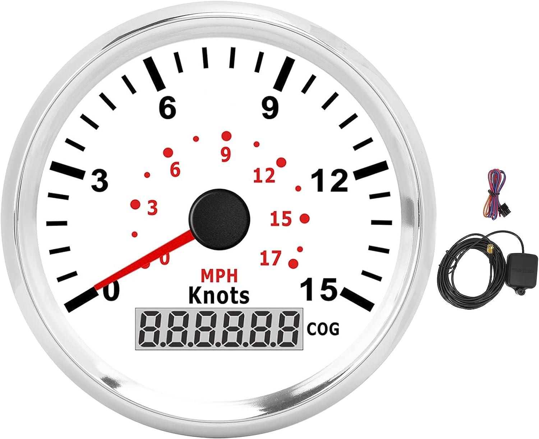 Award Speed Gauges Lcd Display 3‑3 Large special price 8In G Steel Waterproof Stainless