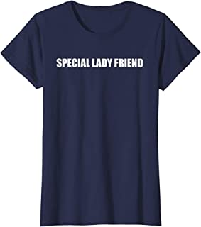 Womens Special Lady Friend, funny women's t-shirt