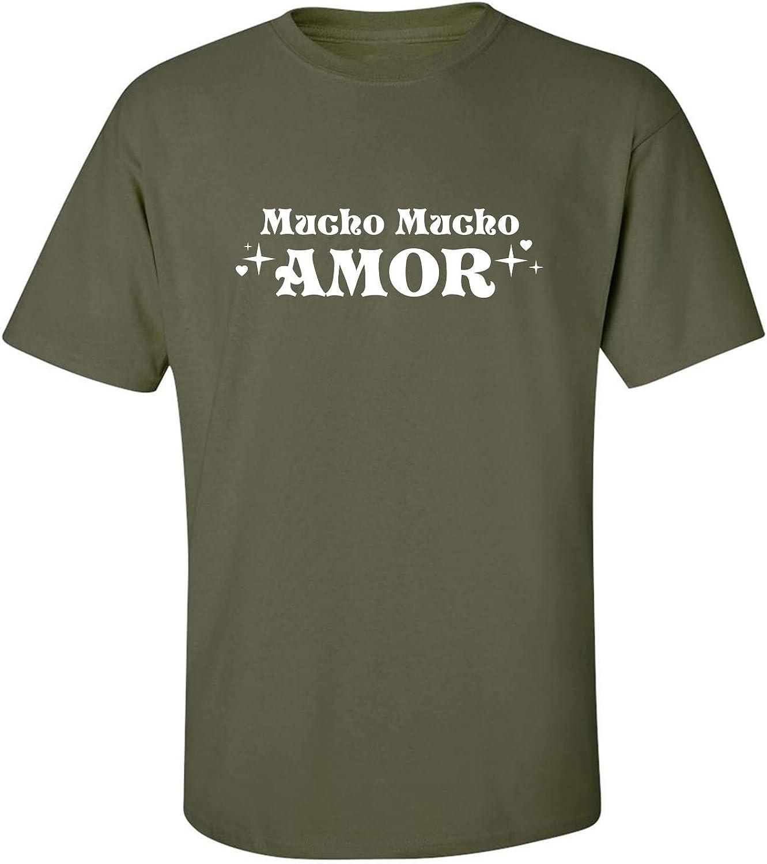 zerogravitee Mucho Mucho Amor Adult Short Sleeve T-Shirt