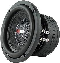 "DS18 Elite Z6 Subwoofer in Black - 6.5"", 600W Max Power, 300W RMS, Dual 4 Ohms, DVC - Premium Car Audio Bass Speaker Great..."