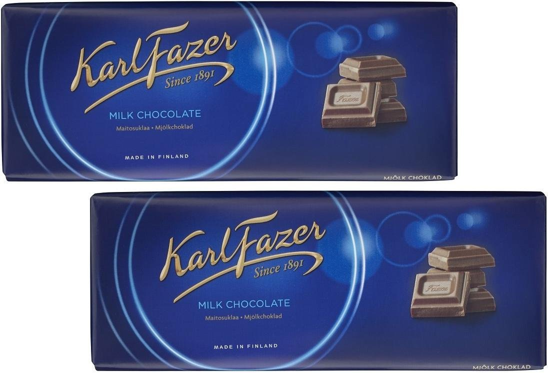 Karl Ranking TOP10 Fazer Blue Brand new Original Finnish Milk 200 Bar Chocolate 7.0 g