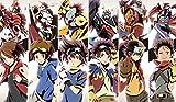 Digimon Six Legendary Heroes CUSTOM PLAYMAT ANIME PLAYMAT #148 by MT