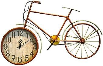 ساعة الحائط ساعة الحائط الدراجة نموذج الديكور دراجة بار مطعم الديكور قلادة الحجم: 92 * 5.5 * 56 سم LJJCUICAN