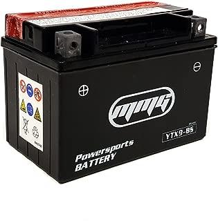 MMG YTX9-BS 12v Motorcycle Battery Compatible on Kawasaki Ninja EX250 250R ZX-6R ZX600 KZ750-L ZX-7RR ZX-9R