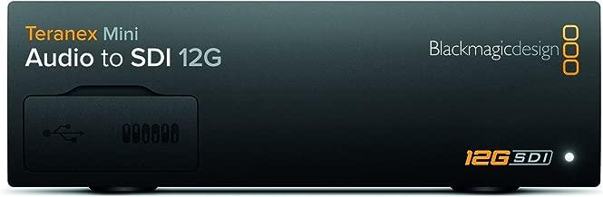 Blackmagic Design Teranex Mini Audio to SDI 12G   SD HD Ultra HD Supported Converter