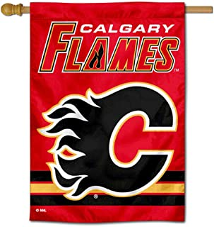 WinCraft Calgary Flames Double Sided Banner House Flag
