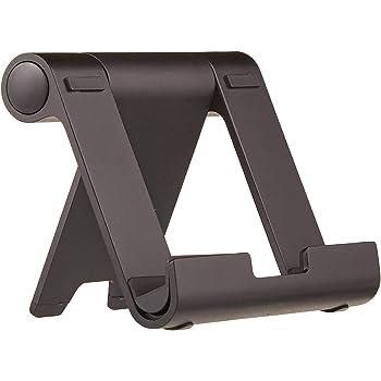 Amazonベーシック タブレットスタンド マルチアングル ポータブルスタンド タブレット/キンドル/スマートフォン用 ブラック