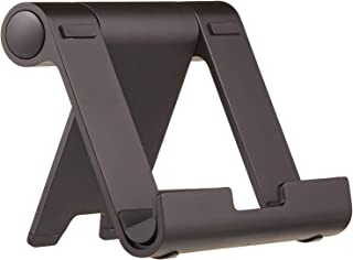 AmazonBasics Multi-Angle Portable Stand for iPad Tablet, E-reader and Phone - Black