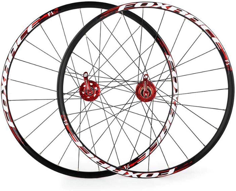 BigTech 26 Zoll Laufrder Fahrrad Wheels Laufrad, Wheels Laufrad Rennrad Aluminiumfelge Vollachse Silber, 24 Lcher 1700g