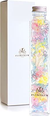 [フラワリウム] 贈り物 誕生日プレゼント 女性 敬老の日 ホワイトデー 母の日 ギフト ハーバリウム 花 (パステル)