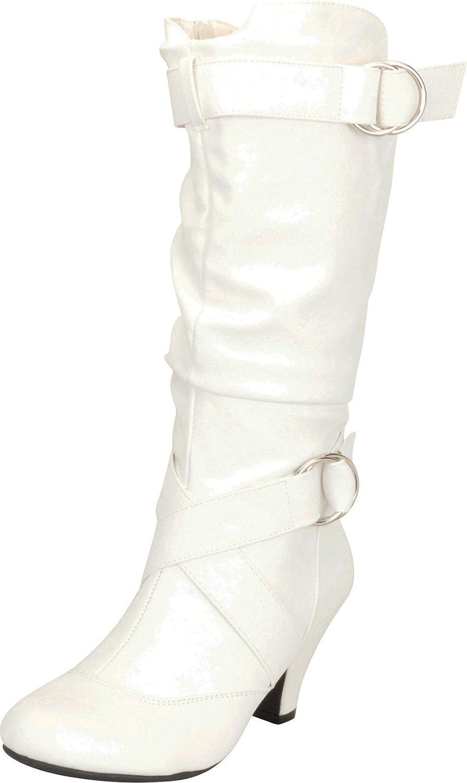Cambridge Select Women's Slouchy 激安特価品 Strappy Crisscross オンラインショップ Mid Heel