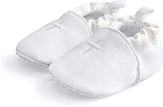 white baptism shoes