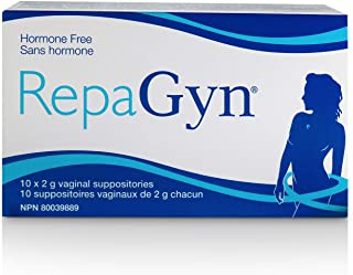 RepaGyn's Vaginal Moisturizer |Useful in Burning, Itching, Vaginal Lubrication | Natural and Non-hormonal | Effective in Menopause Dryness and Mucosa Healing
