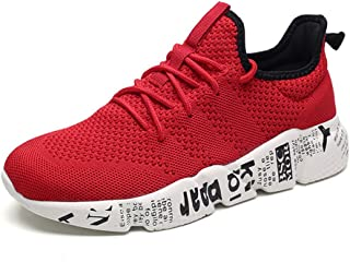 Scennek Men's Sports Shoes Fashion Mesh Breathable Casual Shoes Lightweight Running Shoes