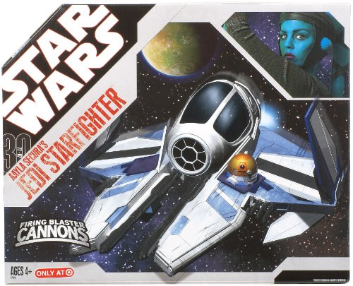 Star Wars 30th Anniversary Clone Wars Saga Vehicle Aayla Secura