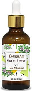 B-URBAN Passion Flower Oil 100% Natural Pure Undiluted Uncut Carrier Oil 30ml