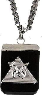 4031901 AEAONMS Masonic Black Stone Necklace Prince Hall Mecca Camel Mason Egypt Egyptian Pyramid