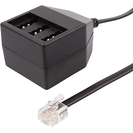 Ecabo Modular Kabel Adapter Splitter Telefonkabel Elektronik