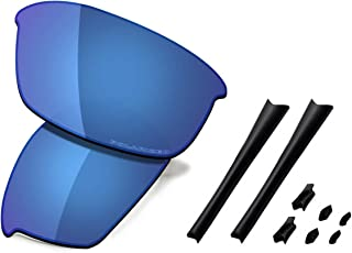 Saucer Premium Replacement Lenses & Rubber Kits for Oakley Flak Jacket Sunglasses