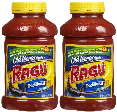 Ragu Pasta Sauce, Old World Style, Traditional, 45 oz, 2 pk